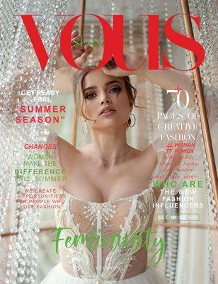 VOUS Magazine | The August Fashion & Beauty Edition | Vol.9 | 2021