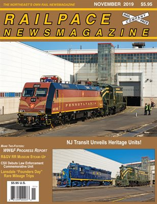 November 2019 Railpace Newsmagazine