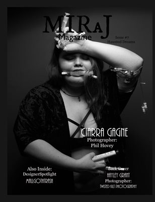Miraj Magazine- Issue #7- Haunted Dreams- Ciarra Cover