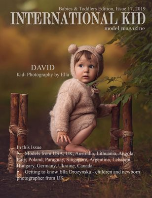 "International Kid Model Magazine ""babies & toddlers"" edition issue 17"