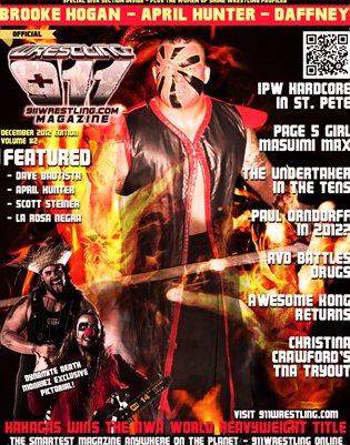 NWA World Heavyweight Champion - Kahagas Cover Issue - 911Wrestling Magazine