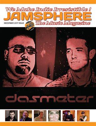 Jamsphere Indie Music Magazine December 2017