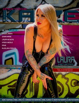 Kayze Magazine issue (LAURA MEYERS ) open theme