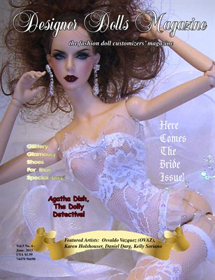 Designer Dolls Magazine - June 2013