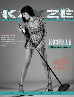 Kayze Magazine Issue 37 - MICHELLE - open theme