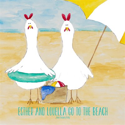 Esther and Louella Go to the Beach