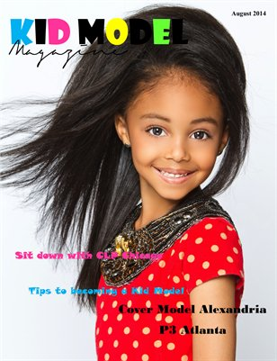 Kid Model Magazine Summer 2014