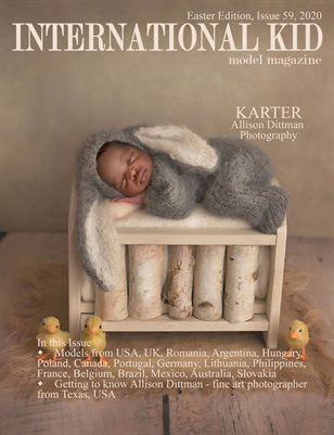 International Kid Model Magazine Issue #59 Easter Edition