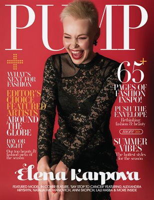 PUMP Magazine | The Ultimate Fashion & Beauty Issue | Vol.4 | May 2021