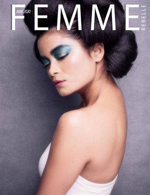 Femme Rebelle Magazine MARCH 2020 - BOOK 1 - Biren Bhalla Cover