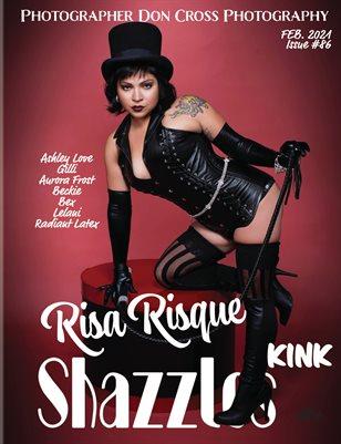 Shazzles KINK Issue #86 VOL 1 Cover Model Risa Risque
