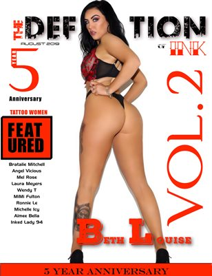TDM:Ink 5yr Anniversary Vol. 2 Cover 1 - Beth Louise