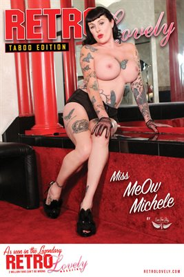 Miss MeOw Michele Cover Poster Taboo No.37