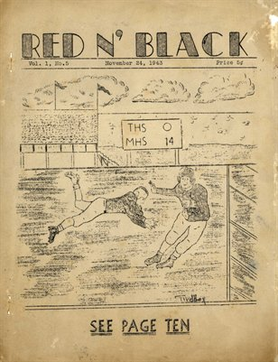 Nov. 24, 1943 Red N' Black, Mayfield High School Newspaper