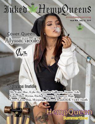Inked HempQueens Magazine ~ Issue 4 ~ AlyssaNicole