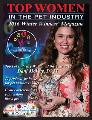 Top Women in the Pet Industry 2016 Winter Winners' Issue