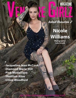 Venture Girlz Magazine Inked Beauties Vol.2 Featuring Nicole Williams