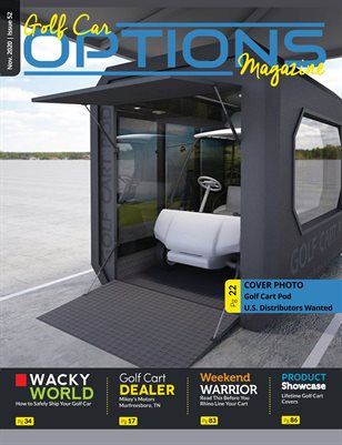 Golf Car Options Magazine - November 2020