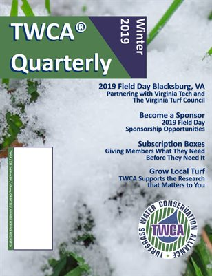 TWCA Quarterly Winter 19