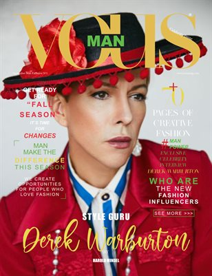 VOUS Magazine | The Fashion & Beauty Celebrity Edition | DEREK WARBURTON | Vol.1 | September 2021