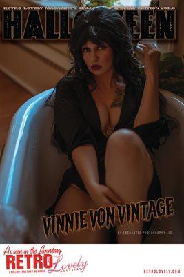 Halloween 2021 Vol.8 – Vinnie Von Vintage Cover Poster