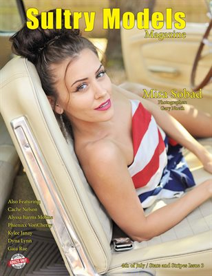 Sultry Models Magazine 4th of July/Stars and Stripes Issue 3