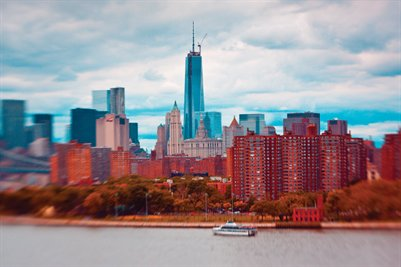 Manhattan Tilt Shift (Poster)