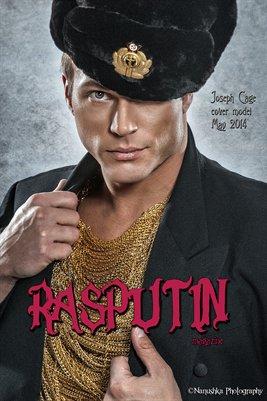 Joseph Cage Rasputin Magazine Cover Poster