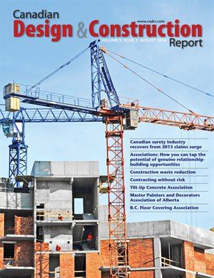 Canadian Design and Construction Report (August 2014)