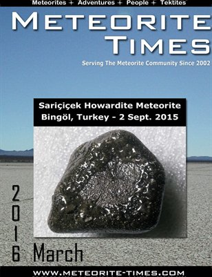 Meteorite Times Magazine - March 2016 Issue