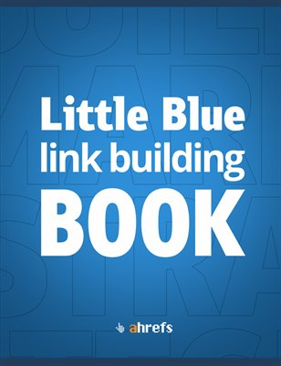 Little Blue link building BOOK