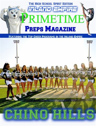 Inland Empire Prime Time Preps Magazine Chino Hills Cheer Edition April 2012