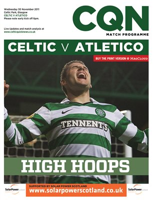 CQN Celtic v Atletico Madrid