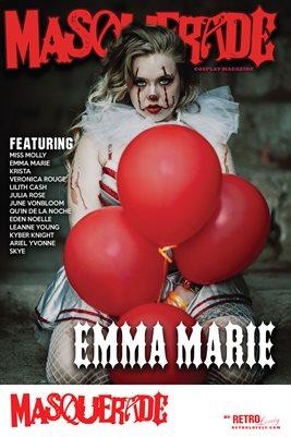 Masquerade No.8 – Emma Marie Cover Poster