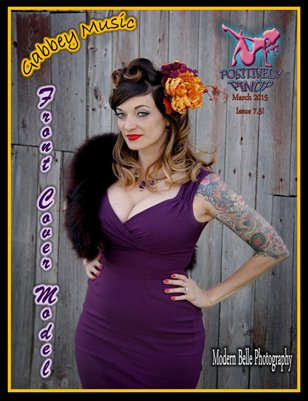 Positively Pinup's March Edition, Issue 7.5