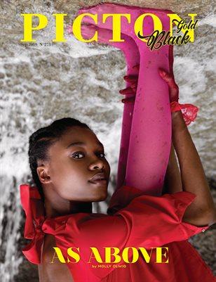 Picton Magazine SEPTEMBER  2019 N273 Black Gold Cover 4