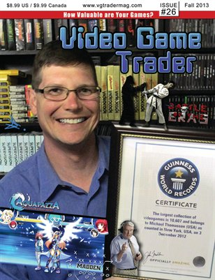 Video Game Trader #26 (Fall 2013) w/Price Guide