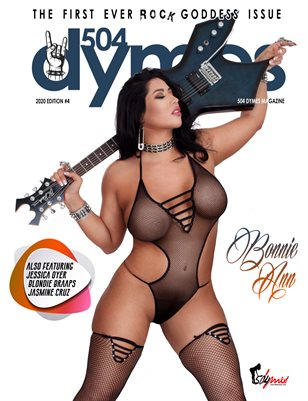 504Dymes Magazine Rock Goddess 2020 Vol. 3