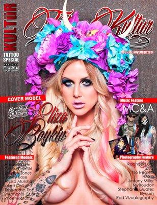 Kultur Magazine TATTOO Special - TATTOO Kultur VOL 10.2
