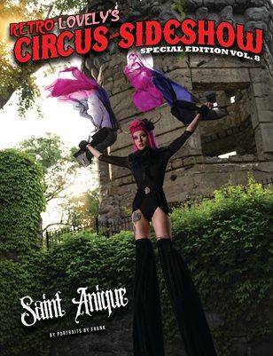 Circus & Sideshow 2021 Vol.8 – Saint Anique Cover