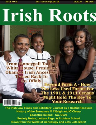 Irish Roots Magazine - Issue No 78