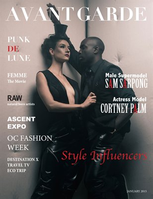 AVANT GARDE Magazine January Issue 2015