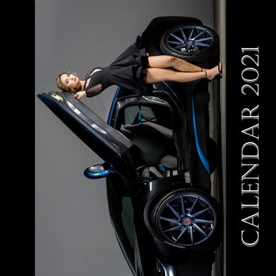 Cars and Models Calendar 2021