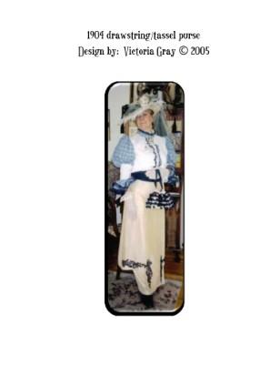 1904 Drawstring purse