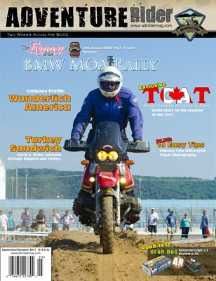 Adventure Rider Magazine - September/October 2011