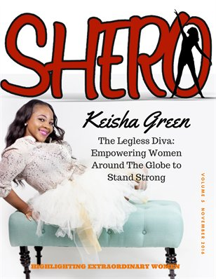 SHERO MAGAZINE NOV 2016 ISSUE
