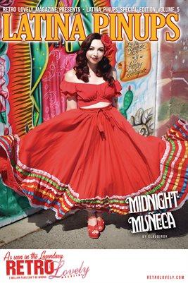 Latina Pinups Special Edition Vol.5 – Midnight Muñeca Cover Poster