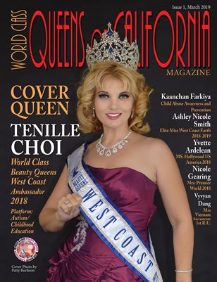 World Class Queens of California Magazine Issue 1 with Tenille Choi