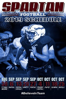 SJO Football Schedule #1