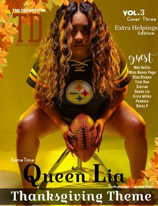 The Definition: Queen Lia-Sierraa Thanksgiving vol.3 cover 3